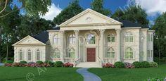Vinius House Plan - 3 kitchens!
