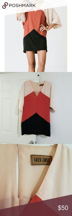 "Karen Zambos ""Andre"" Dress Karen Zambos dress. Size S. Made in the USA. In very good condition. Karen Zambos Dresses"