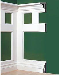 wall+trim | wall trim moulding