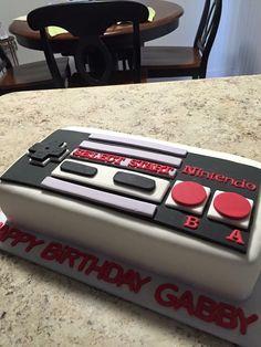 Nintendo Game Controller Cake                                                                                                                                                     More