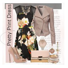 A fashion look from February 2015 featuring Ted Baker dresses, Jane Norman jackets and Casadei pumps. Browse and shop related looks.