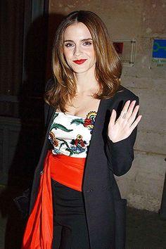 Emma Watson. Pinned by @lilyriverside