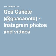 Gea Cañete (@geacanete) • Instagram photos and videos