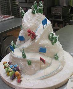 Children's Cakes — Fancy Cakes by Leslie DC MD VA wedding cakes Maryland Virginia Washington Buttercream Cake, Fondant Cakes, Cupcake Cakes, Fancy Wedding Cakes, Fancy Cakes, Themed Birthday Cakes, Themed Cakes, Fete Audrey, Mountain Cake
