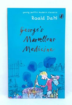 Like New! George& Marvellous Medicine by Roald Dahl Young Puffin Modern Classic Georges Marvellous Medicine, Roald Dahl, Chapter Books, Modern Classic, Coloring Books, Ebay, Art, Vintage Coloring Books, Art Background
