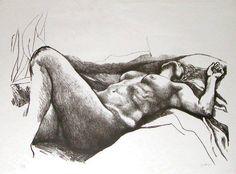 Nudo di donna Renato Guttuso (1911-1987)