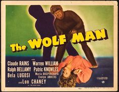 """The Wolf Man (Universal, 1941). Title Lobby Card (11"""" X 14"""").. ... 