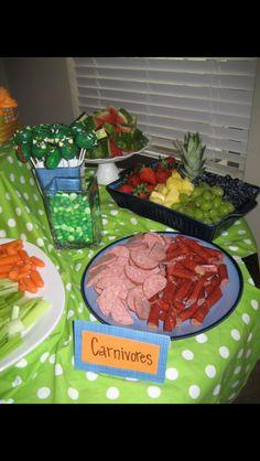 Dino party- carnivores