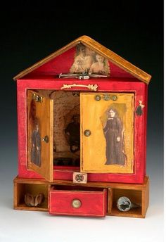 A Carol Owen workshop here on April 27 and 28. Spirit Houses and Shrines