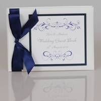 Personalised Vintage Scroll Wedding Guest Book | The Bridal Gift Box | Wedding & Bridal Gifts