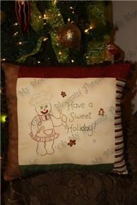 Sweet Holiday Embroidery Pattern (A52) Embroidery Patterns by Oh My Bloomin' Threads
