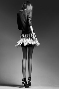 This picture is silence. Fashion Photoshoot long legs and High Heels