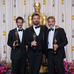 (A film about filmmaking. Sort of.)  Argo takes the top accolade at this year's #Oscars