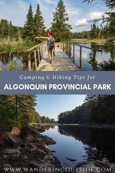 Have you ever thought of making a trip to Ontario's largest Provincial Park? Don't know where to camp or hike? Read this for some insight on your next road trip. Ontario Camping, Ontario Travel, Hiking Tips, Camping And Hiking, Camping Tips, Backpacking, Quebec, Ontario Provincial Parks, Canadian Travel