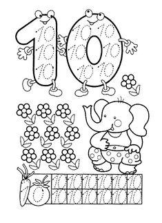 Preschool and Homeschool Numbers Preschool, Math Numbers, Preschool Activities, Math For Kids, Lessons For Kids, Math Lessons, Grande Section, Printable Numbers, Kindergarten Math Worksheets