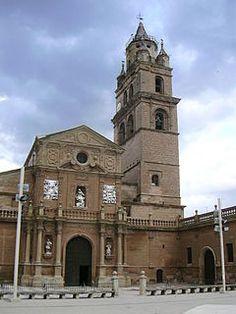 Catedral de Santa María de Calahorra, La Rioja (España), sede de la Diócesis de Calahorra y La Calzada-Logroño, es un edificio básicamente gótico del siglo XVII, de diversos estilos y épocas.Es un edificio de sillería con tres naves, crucero, girola, dieciséis capillas y claustro. La fachada norte con un cuerpo inferior de estilo plateresco y un cuerpo superior gótico formado por una arcadas y un tímpano