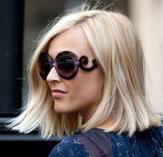 fearne cotton - love her hair - i am going to chop mine off
