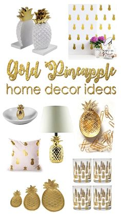 Magnificent I'm kinda obsessed with pineapples these days. These are 20 gorgeous pineapple decor ideas. The post I'm kinda obsessed with pineapples these days. These are 20 gorgeous pineapp… appeared first on Etty Hair Saloon . Decoration Ikea, Decoration Design, Funky Home Decor, Easy Home Decor, Cool Ideas, Amazing Ideas, Diy Ideas, Gold Pineapple Decor, Pinapple Decor