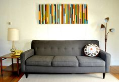 How to make wall art from wood scraps | How About Orange