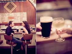 Bar Engagement Photos