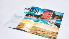 ✨ Die Visit HotSpots-Broschüre für E-Bike-Touren durch Istrien besticht durch unterschiedliche Formate in einem Magazin! 💎 #nicetomoveyou #print #printdesign #editorialdesign #grafikdesign #visithotspots #branding #travelagency #agency #agencylife #werbeagentur Editorial Design, Grafik Design, Brochure Design, Gallery, Cover, Projects, Books, Behance, Search