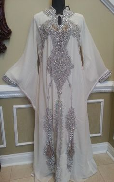 White Queen Abaya - Formal Collection