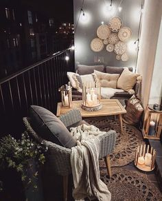 balkon dekor ideen, boho innendekoration, zimmerpflanzen balcony decor ideas, boho interior decoration, indoor plants # balcony # balcony # balcony ideas # one # for Small Balcony Design, Small Balcony Decor, Terrace Design, Small Flat Decor, Small Terrace, Small Pergola, Pergola Patio, Gazebo, Apartment Balcony Decorating