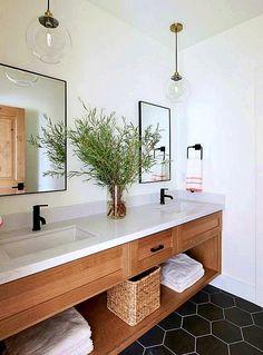 Importance Of Having A Diy Bathroom Vanity - haus.decordiyhome - Nicole Dewey - Importance Of Having A Diy Bathroom Vanity - haus.decordiyhome Importance Of Having A Diy Bathroom Vanity - Bathroom Lighting Design, Bathroom Vanity Decor, Modern Bathroom Design, Bathroom Styling, Bathroom Interior Design, Bathroom Ideas, Bathroom Organization, Bathroom Designs, Remodel Bathroom