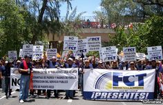 Sindicatos se preparan para manifestarse durante mensaje del gobernador