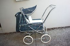 Pram -- Vintage Steelcraft Pram -- circa 1970. This is like the one I had for Michael.