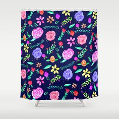 Floral Shower Curtains On Pinterest