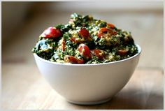 Raw Wilted Kale Salad