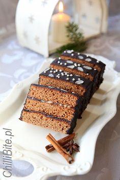 piernik starpolski Gingerbread Cake, Waffles, Food Porn, Cooking Recipes, Sweets, Baking, Breakfast, Christmas, Polish