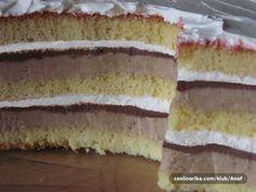 Vrijeme je kestena, a ovo je torta od kestena na moj način! Osim što je fina (tako kažu svi koji su probali :) ), i presjek torte izgleda odlično!!! Ako želite, probajte i vi i uživajte u okusu jeseni!!!