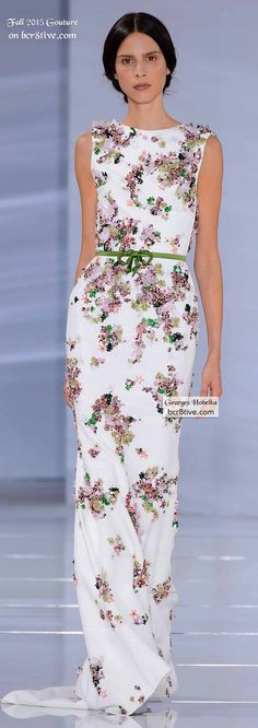 Georges Hobeika Couture Fall 2015-16