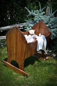 crib, rocking cradle, bed, bassinet- custom
