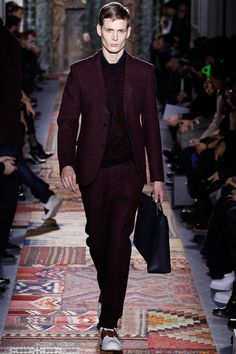 Valentino Fall 2014 Menswear - Collection - Gallery - Look 1 - Style.com