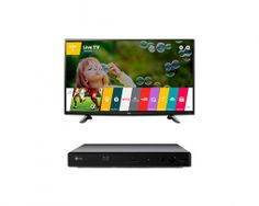 "Pantalla 32"" LED Smart TV HD + Blu-ray   Bistabuh"