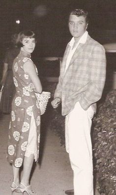 Natalie Wood and Elvis Presley - 1956