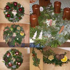 Adventskranz + Türkranz + Weihnachtsdeko