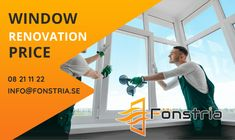 Fonstria is one of the best #leading #window renovations in Sweden. We provide cheap price window replacements glass in Stockholm. We offer online services like balconies window, bathroom window, bedroom window and sliding door glass renovation. For more info visit our website:-