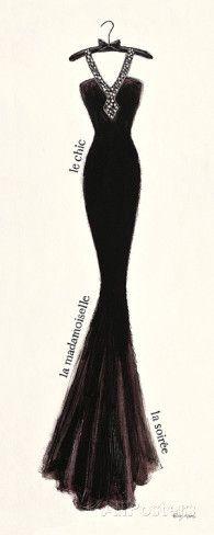 Couture Noir Original III Emily Adams
