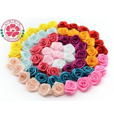 Cheap flower fashion, Buy Quality flowers lot directly from China rose flower bouquet Suppliers:    Product Name: Handmade Rose FlowerMaterial: Ribbonolor: same as picture(10 colors available)Size: