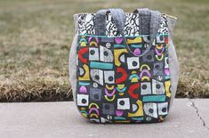 It's here, spring and my newest pattern, the Super Tote!  I'm very excited to have the pattern ready and I