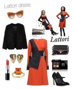 """Lattori"" by steffyyeah on Polyvore featuring moda, Givenchy, Lattori, Bulgari, Dolce&Gabbana, Valentino, LE3NO, Kobelli, STELLA McCARTNEY e Bobbi Brown Cosmetics"