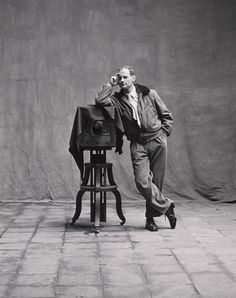 Irving Penn.  Probably best known for his fashion photography, but also for his modernist still lifes.  http://en.wikipedia.org/wiki/Irving_Penn http://www.nytimes.com/2009/10/08/arts/design/08penn.html?_r=2