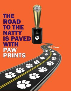 Way to go Clemson Tigers 2016 National Champs !!!!!