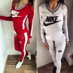 Stylish womens 2 piece #tracksuit, #hoodie and #pants set