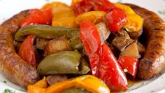Your Monday just got a whole lot tastier! Get Papa Dan's fresh #sausage, peppers & onion special today! #palmdesert
