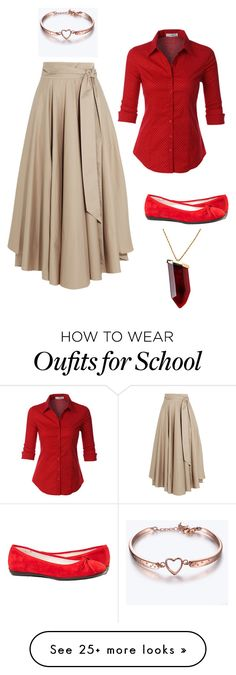 """school dance #3"" by dancingcookie16 on Polyvore featuring TIBI, LE3NO, Paolo Shoes and Kenneth Jay Lane"